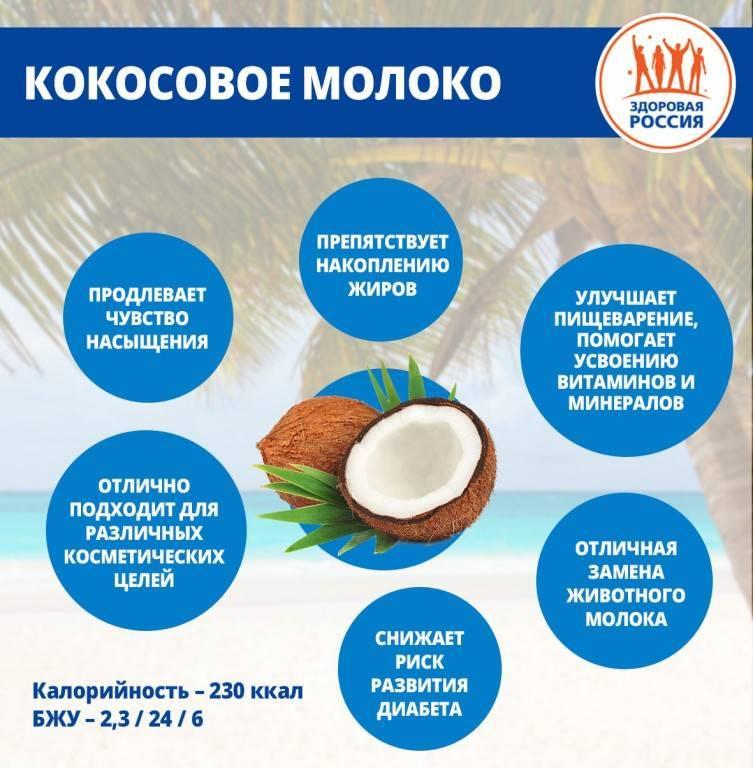 Кокосовое молоко и его состав