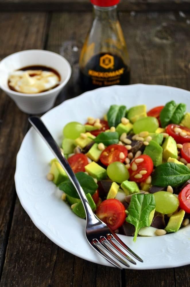 Салат из авокадо с кедровыми орехами / куриные салаты / tvcook: пошаговые рецепты с фото