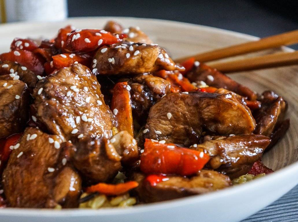 Арахисовая курица – кулинарный рецепт