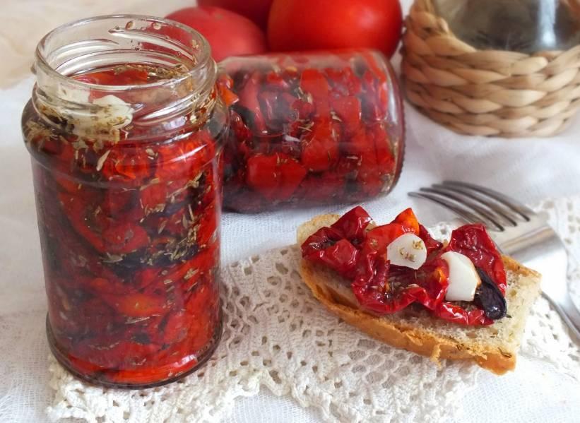 Вяленые помидоры в домашних условиях - лучшие рецепты с фото | волшебная eда.ру