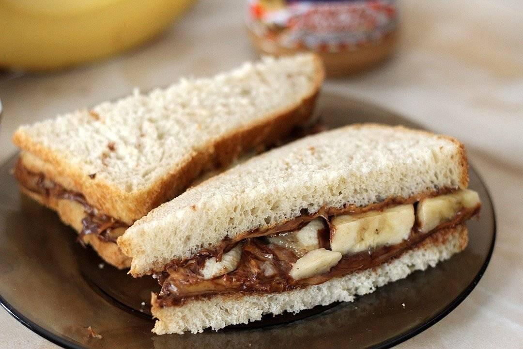 Сэндвичи с арахисовой пастой