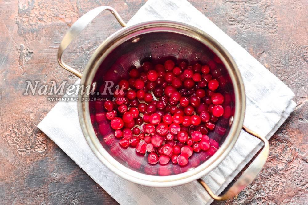 Компот из замороженной клюквы: как варить компот из клюквенных ягод? рецепты компота на зиму для ребёнка