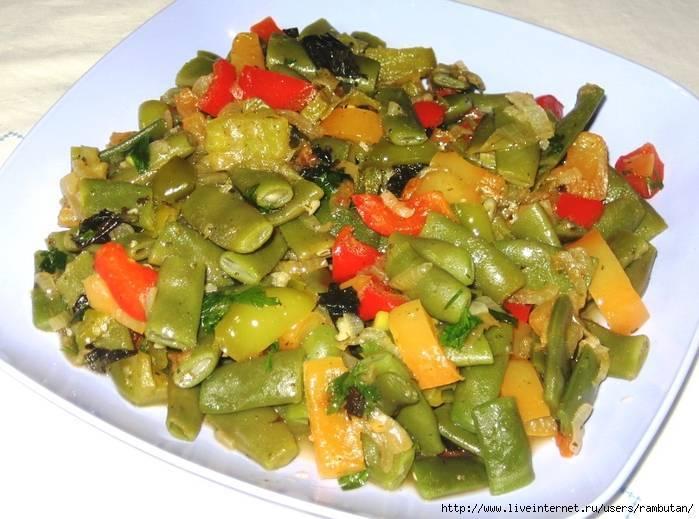 Просто, вкусно и очень полезно — рецепты блюд из стручковой фасоли и цветной капусты