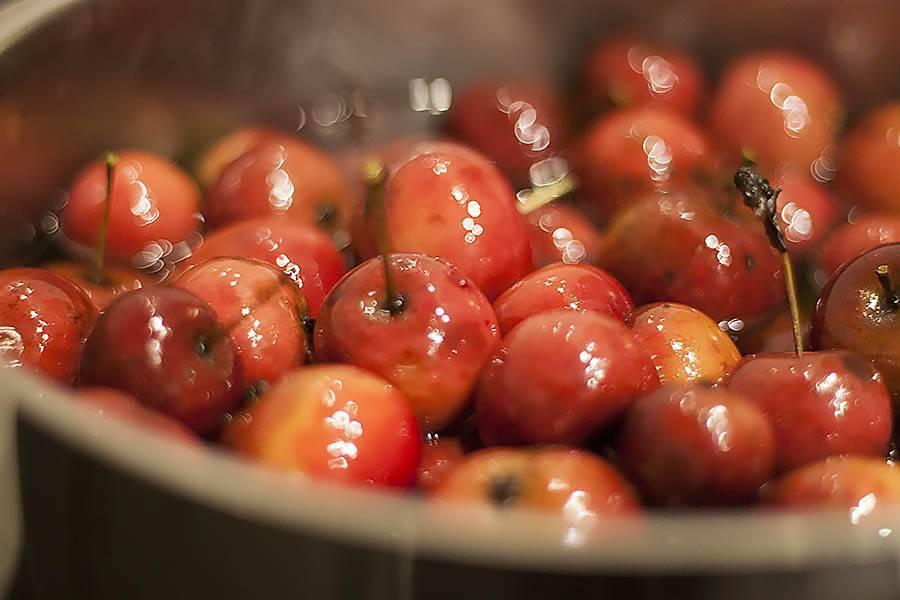 Лучшие рецепты варенья из райских яблок (ранеток) / заготовочки