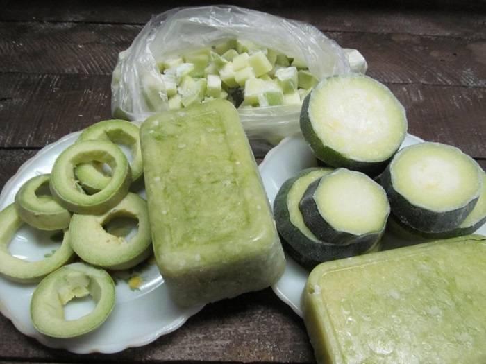 Как заморозить кабачки на зиму для рецептов правильного питания и что из них приготовить потом - пп вкусно!