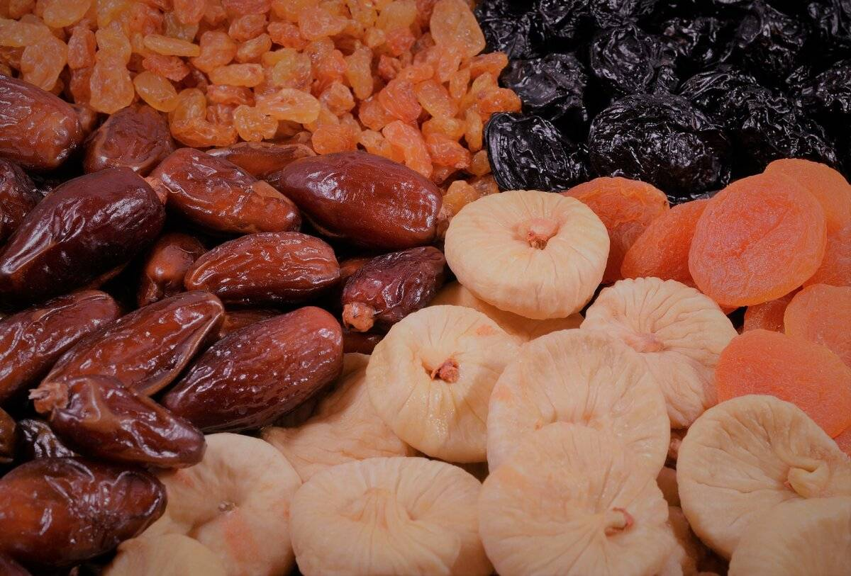 Сухофрукты: польза и вред. foodandhealth   food and health