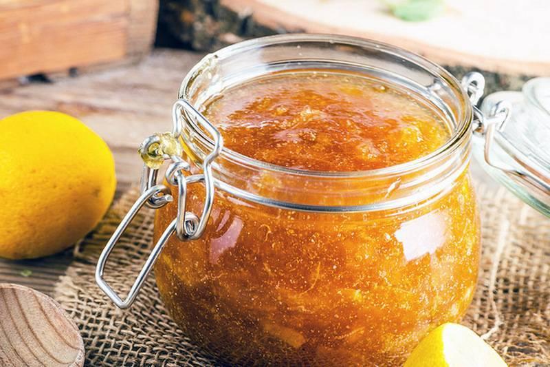 Варенье из лимонов — пошаговый рецепт с фото