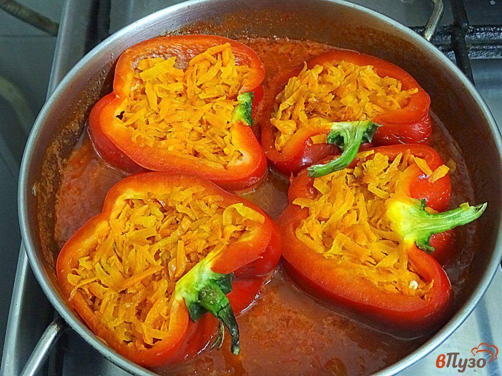 Фаршированные перцы с фаршем и рисом в кастрюле - 8 рецептов приготовления с пошаговыми фото