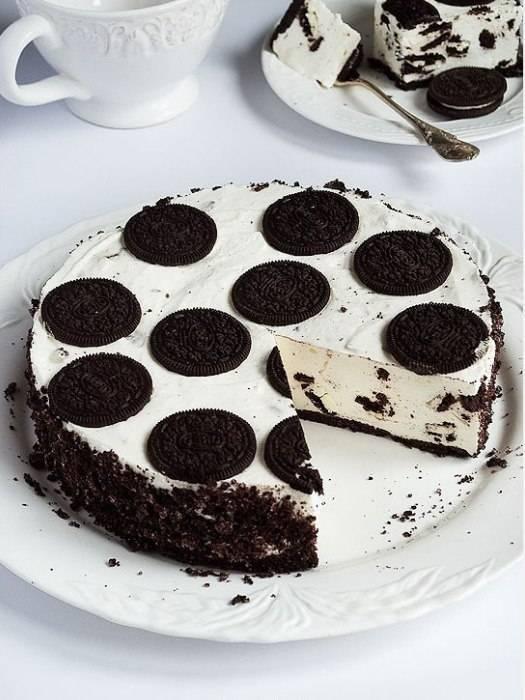 Шоколадный торт орео: праздничный десерт без особых хлопот