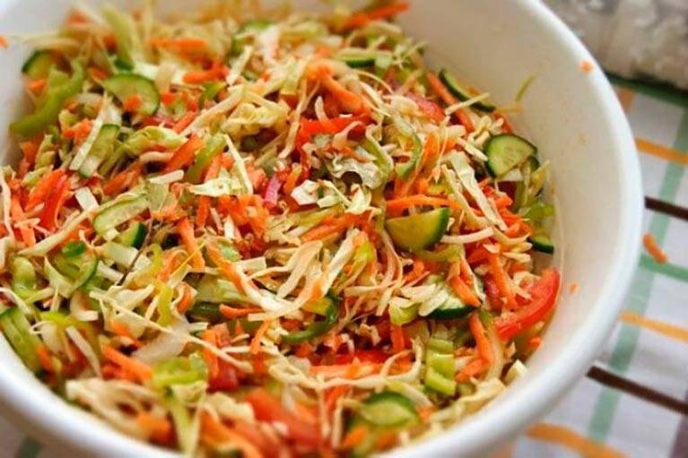 Салат кубанский на зиму – варианты приготовления и полезные советы консервирования: рецепт с фото и видео