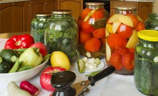 Маринованные овощи и фрукты – разные рецепты