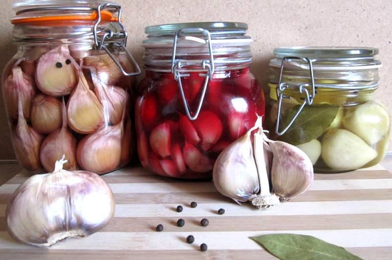 Маринованный чеснок с красной смородиной на зиму: рецепты маринования с фото и видео