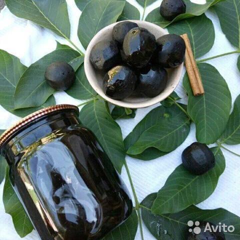 Варенье из грецкого ореха: польза и возможный вред