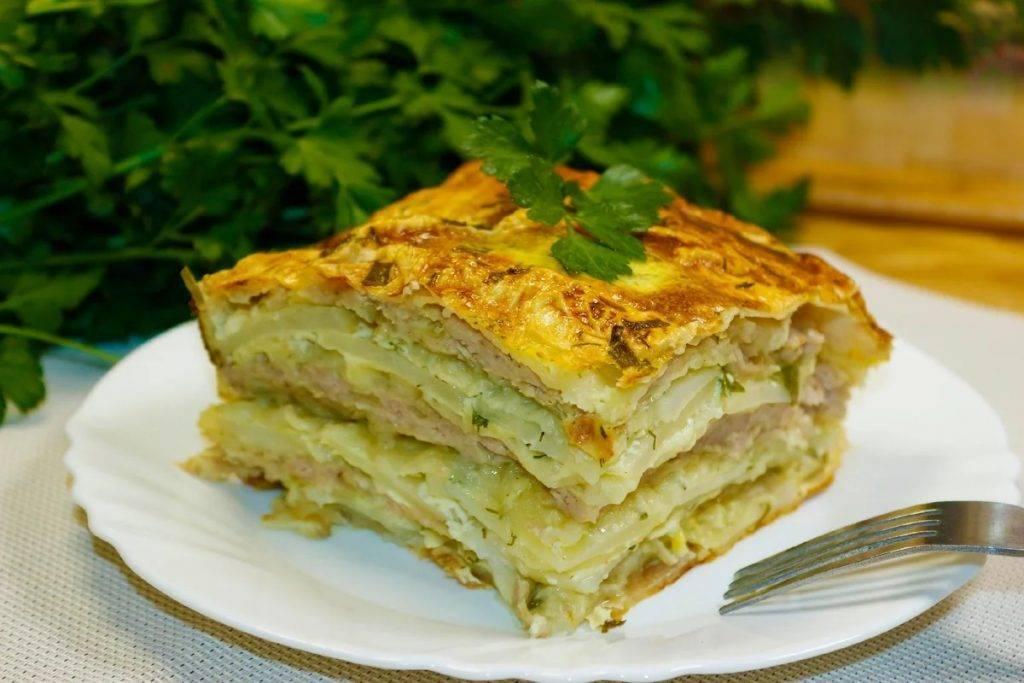 Картофельный пирог - 12 вкусных рецептов
