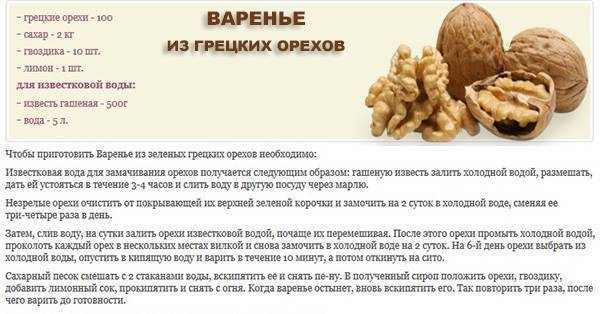 Как приготовить и чем полезно варенье из зеленых грецких орехов