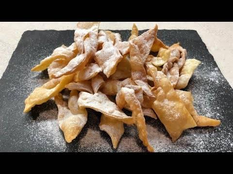 Печенье «хворост» - 12 классических рецептов хрустящего хвороста с фото