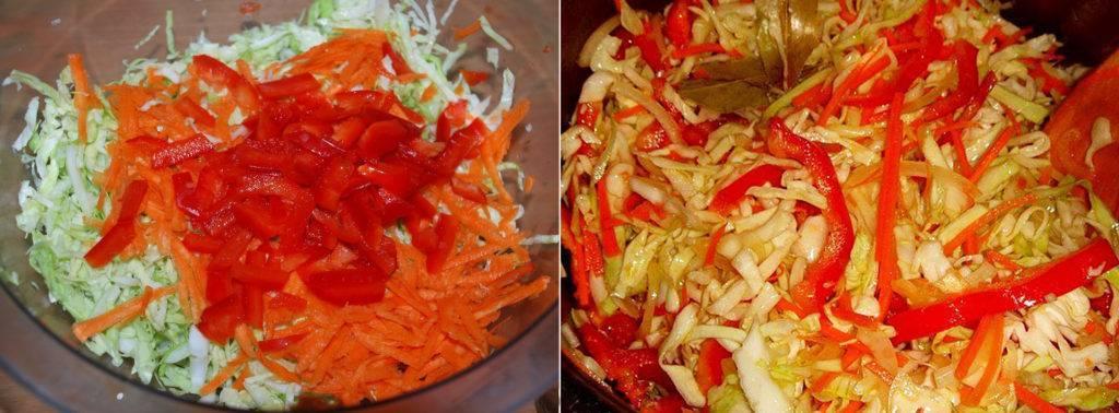 Рецепты кубанских салатов на зиму - рецепты еды