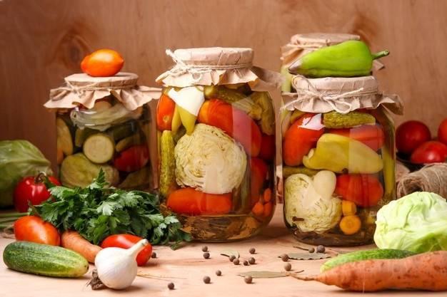 Общие правила и приемы заготовки овощей и фруктов