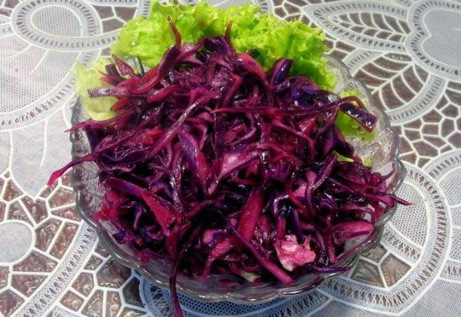 Рецепты на зиму – краснокочанная капуста во всех вариантах заготовки
