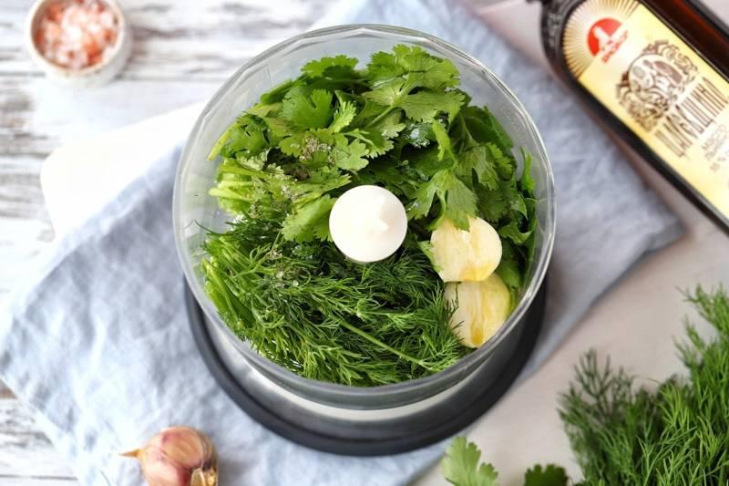 Заготовка зелени чеснока на зиму: рецепты