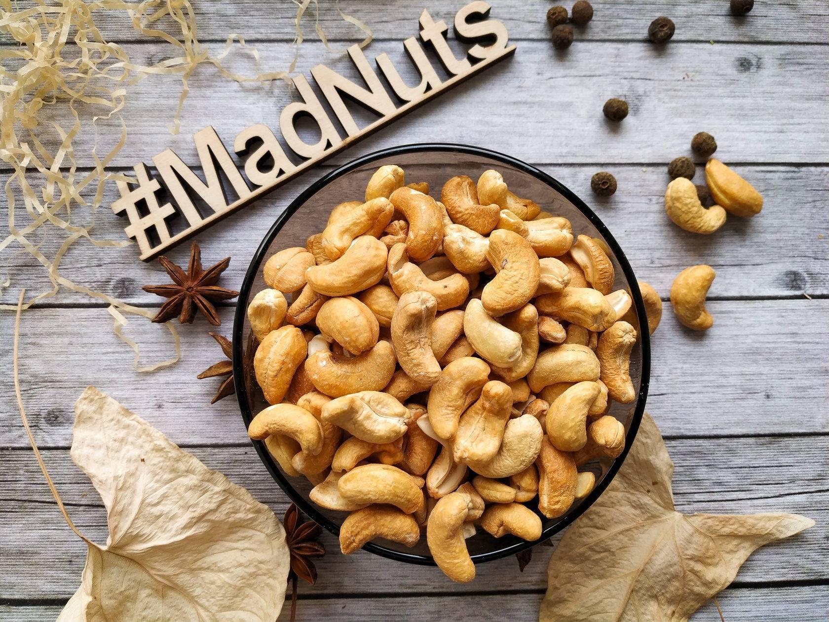 Жареный кешью: польза, вред, гликемический индекс, пищевая ценность, и полезнее ли он сырого ореха, какое количество калорий в 100 граммах продукта?