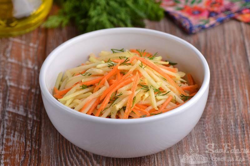 Салат из капусты, черной редьки и лука. консервирование. салаты и закуски