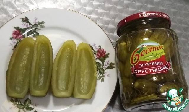 Соленые огурцы в духовке рецепт