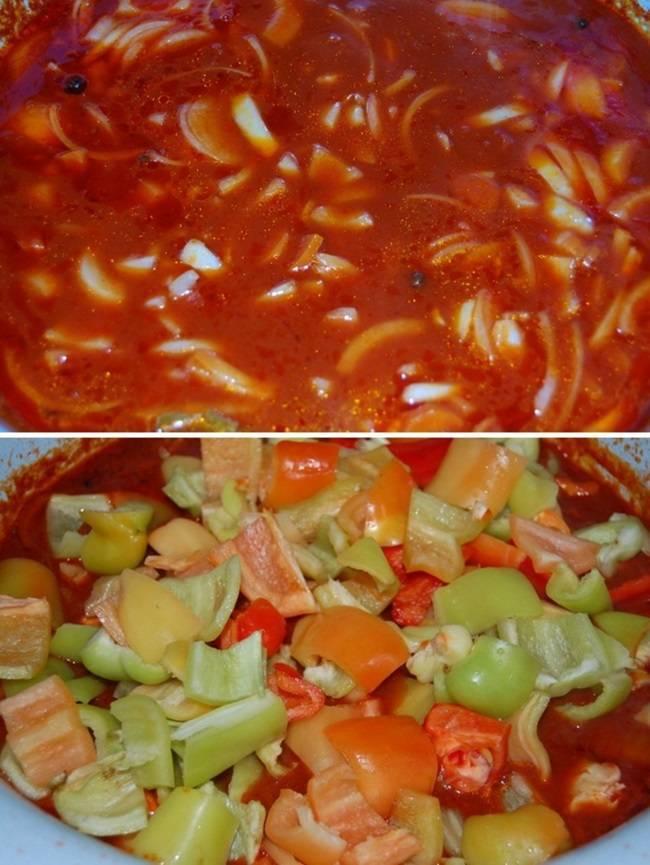 Лечо с томатной пастой рецепты