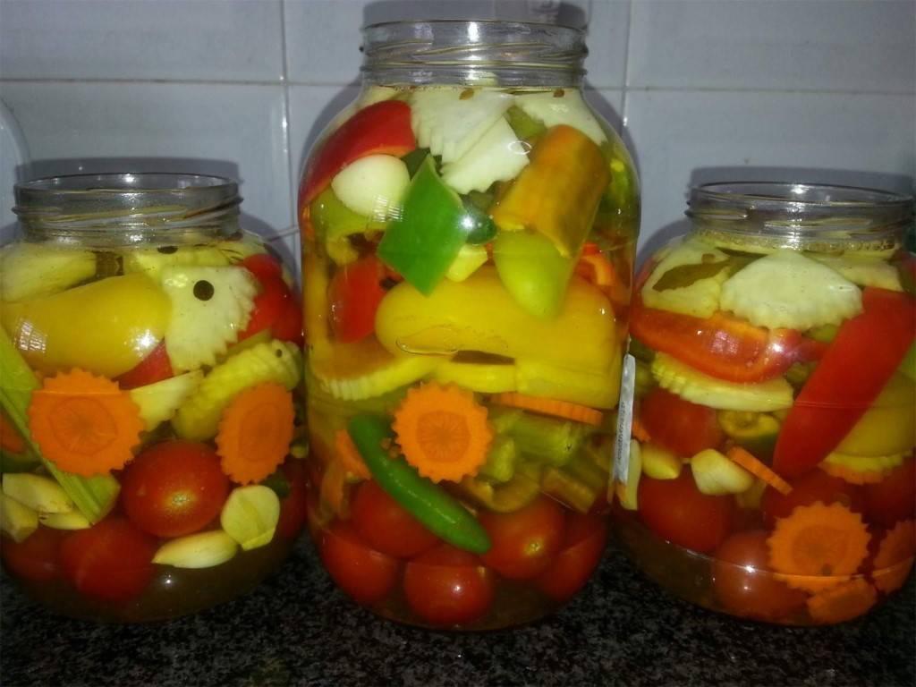 Маринованные патиссоны — вкусный рецепт заготовки на зиму