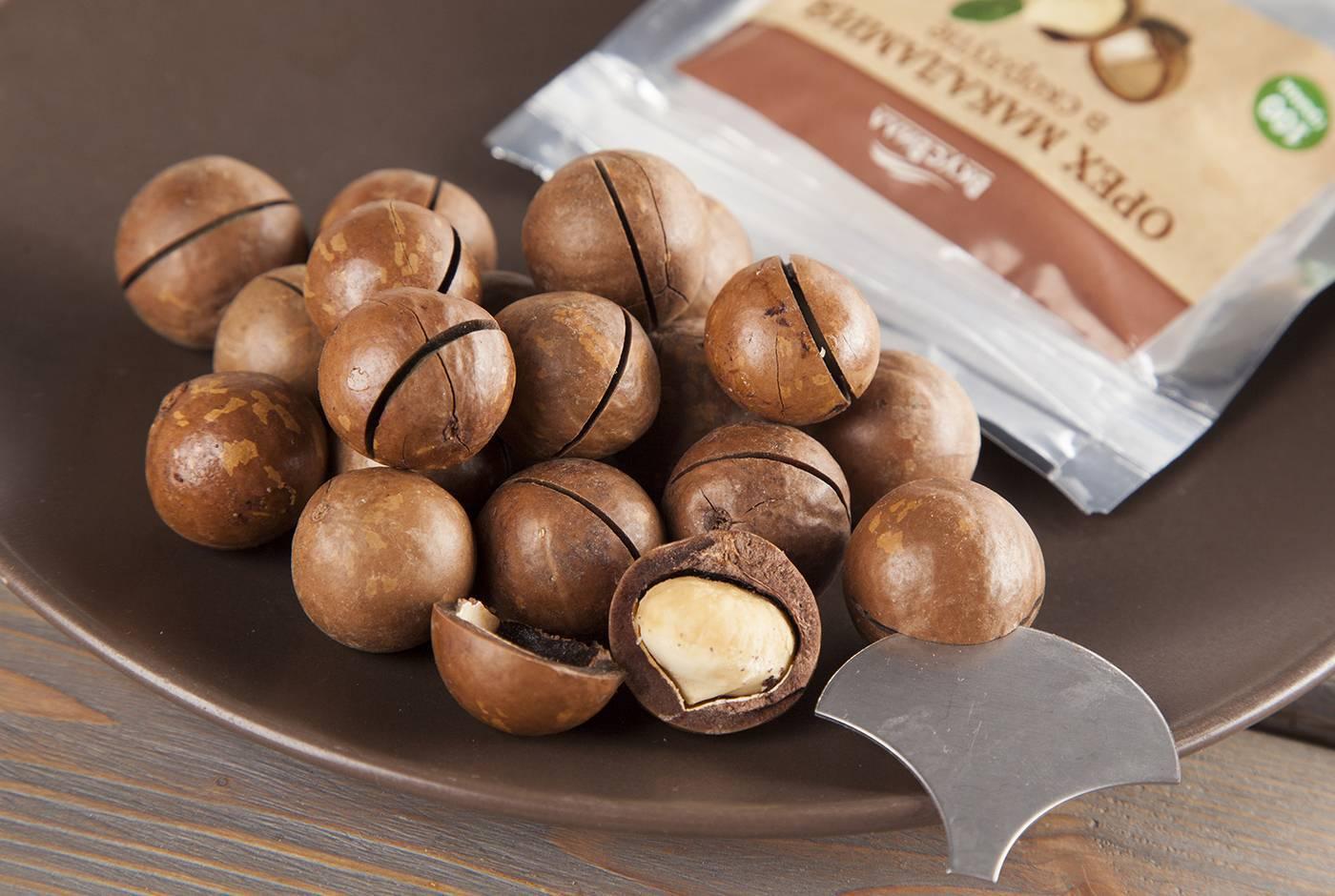 Орехи макадамия польза и вред для организма | про орехи
