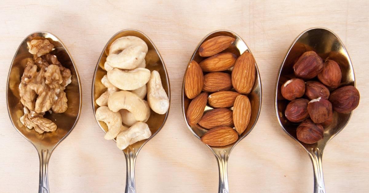Орехи при гастрите: грецкие, фундук, арахис