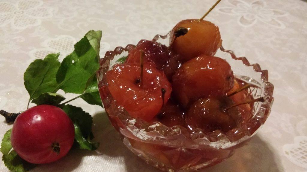 Варенье из райских яблок с хвостиками: рецепты с фото пошагово
