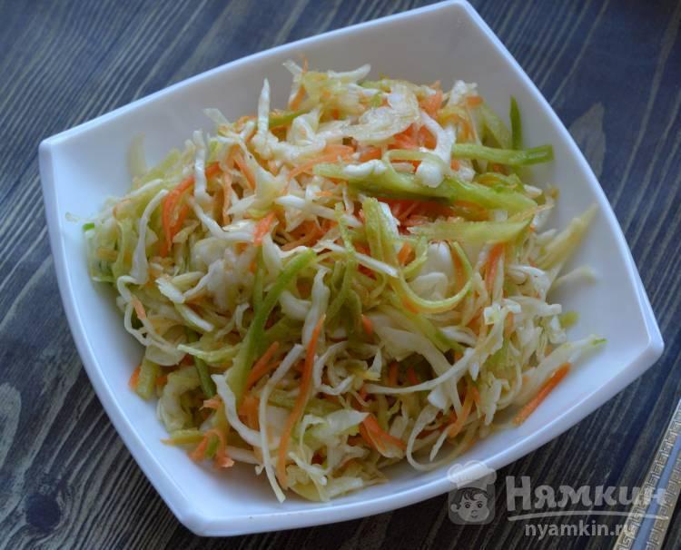 Салат с капустой и редькой - 82 рецепта: овощные салаты | foodini