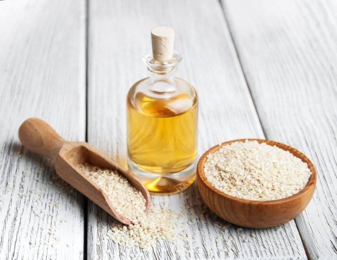Свойства и применение кунжутного масла в домашней косметологии и медицине