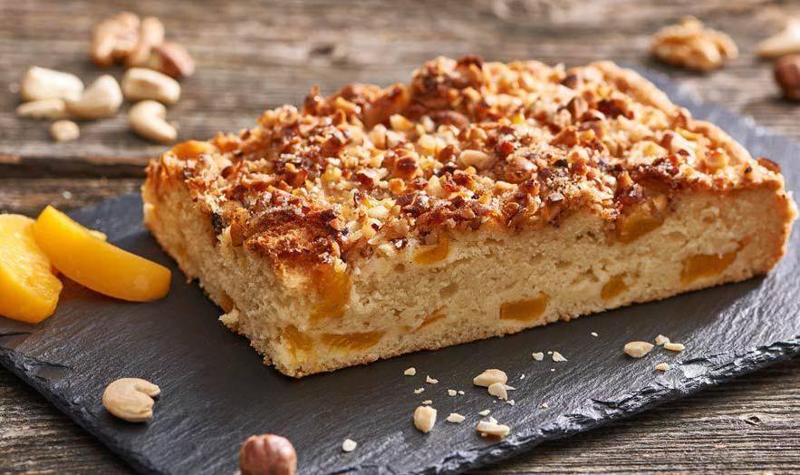 Яблочно-ореховый пирог – кулинарный рецепт