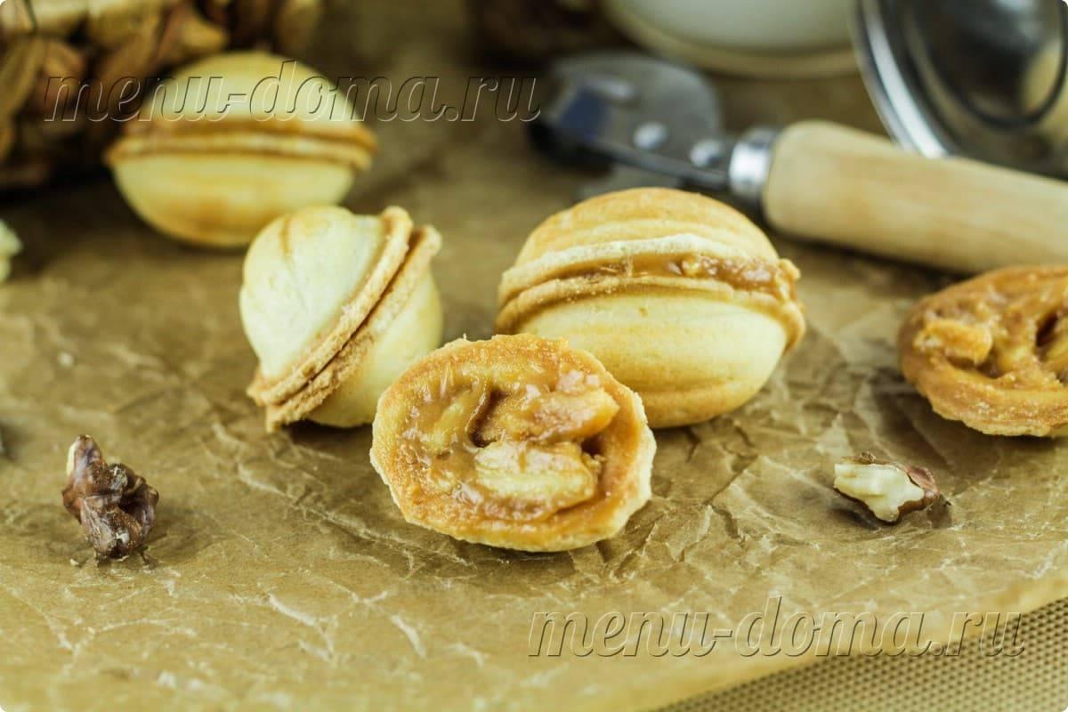 Классический рецепт орешков со сгущенкой в орешнице: тесто для печенья как в детстве