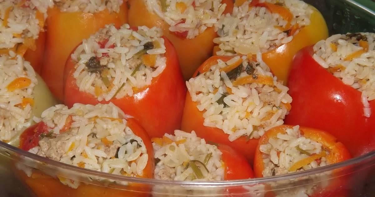 Помидоры, фаршированные овощами и рисом: калорийность на 100 грамм — 118 ккал. белки, жиры, углеводы, химический состав.