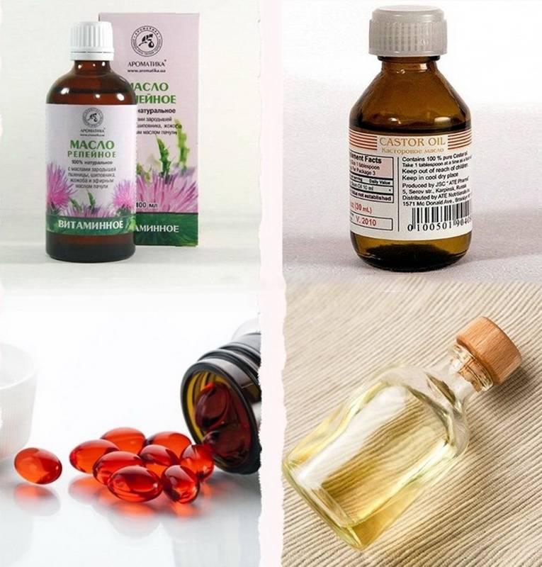 Лечение и укрепление ресниц касторовым маслом