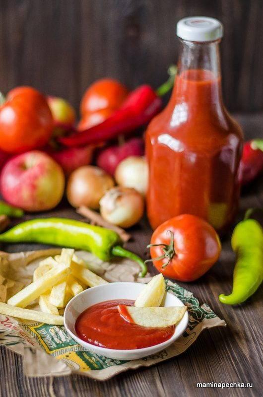 У вас остались помидоры и яблоки? приготовьте один из 7 вкуснейших кетчупов!