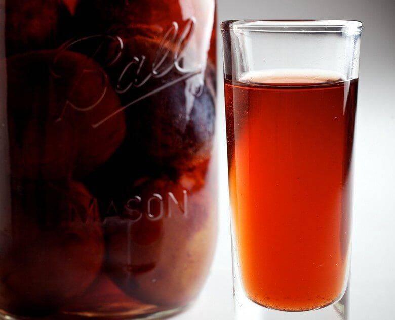 Компот сливовый с вином — пошаговый рецепт с фото