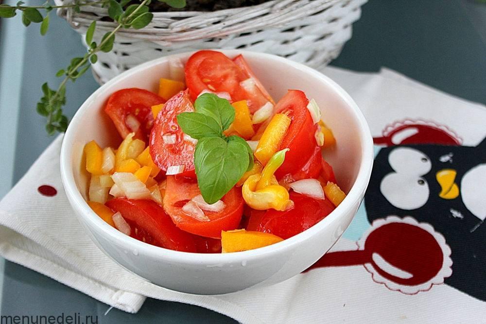 Горячий салат из болгарского перца. лучшие рецепты вкусных и полезных салатов из перца