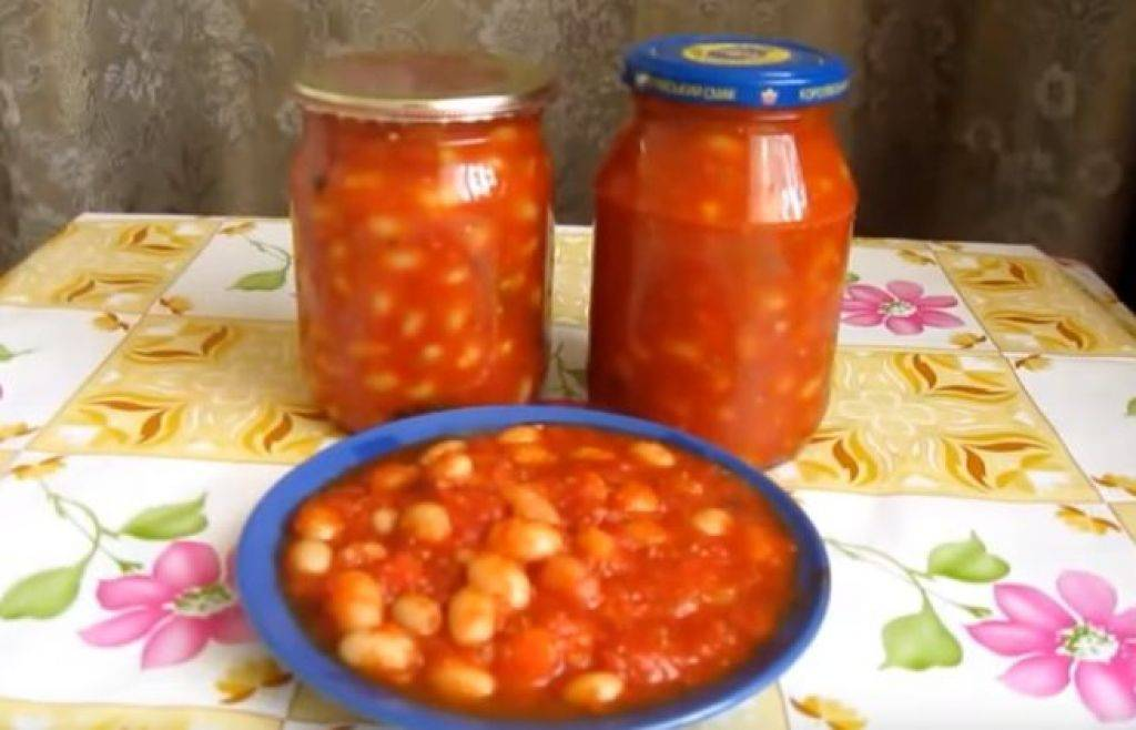 Свежая и консервированная фасоль в томатном соусе: 17 рецептов