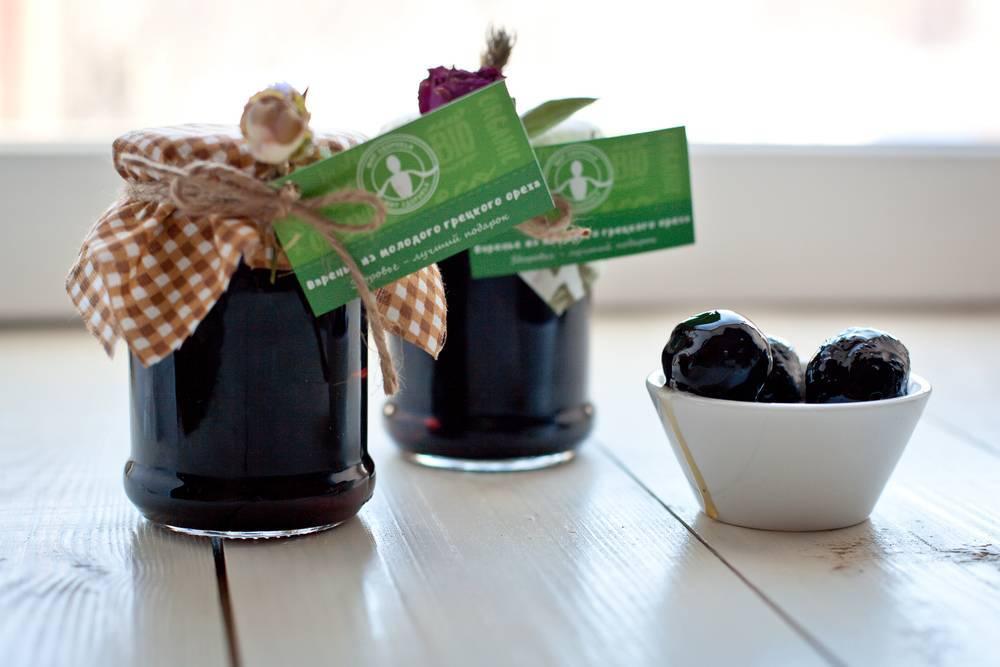 Варенье из зеленых грецких орехов рецепт с фото пошагово - 1000.menu