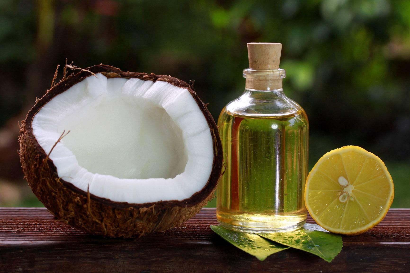 Кокосовое масло для еды, применение в пищу в чистом виде и для жарки, польза и вред, отзывы