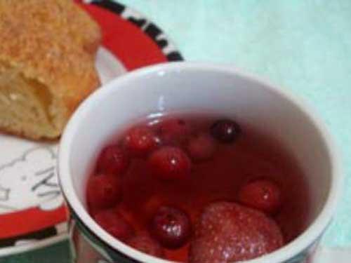 Компот из замороженной клюквы: популярные рецепты