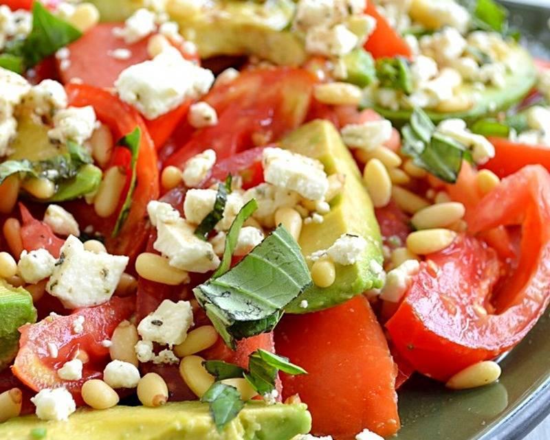 Салат с авокадо и грушей - 46 рецептов: салаты   foodini