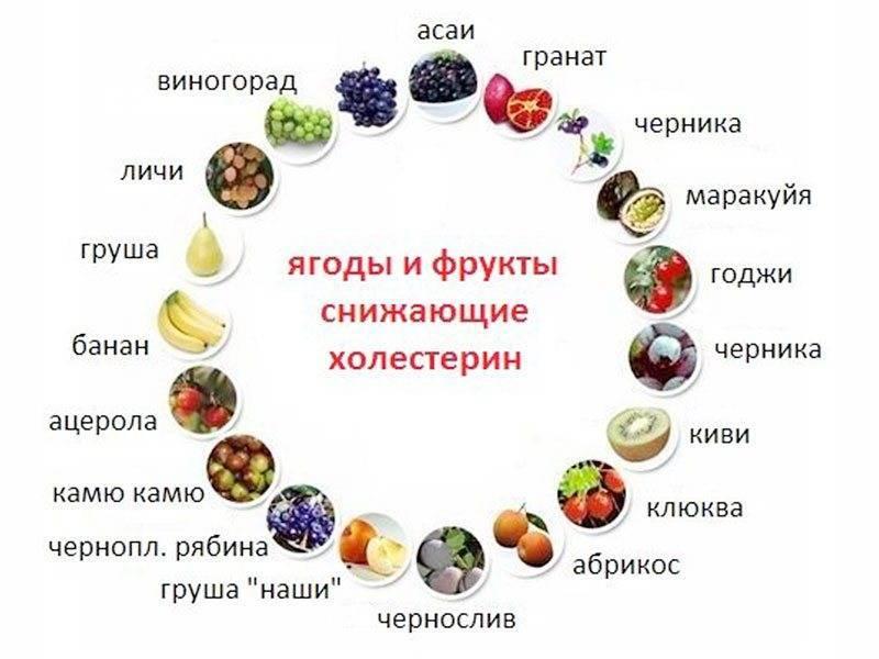 Какие фрукты понижают холестерин в крови? [топ-5 фруктов для сосудов]