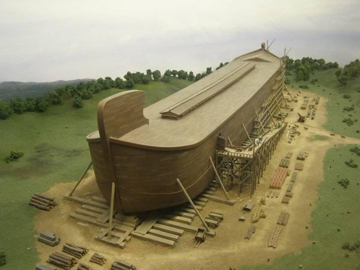 Ной и его ковчег: библейская история, великий потоп