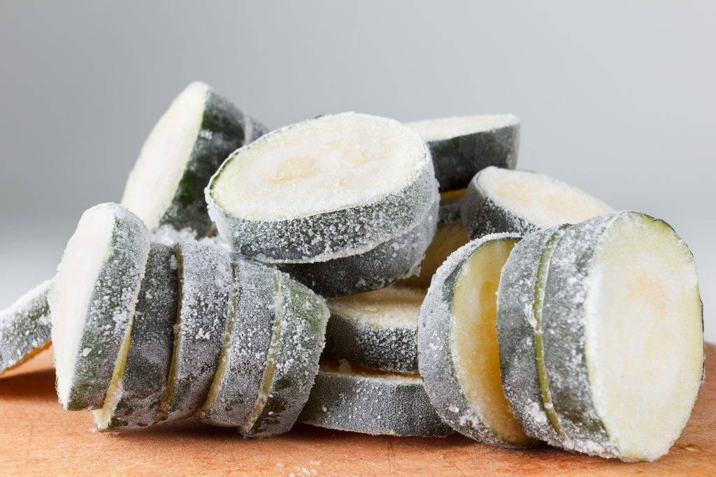 Как заморозить кабачки на зиму для рецептов правильного питания и что из них приготовить потом