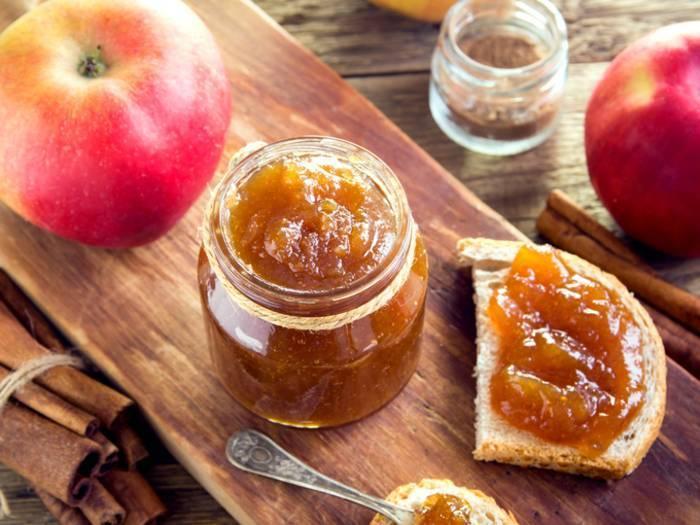 Варенье пятиминутка из яблок на зиму - рецепт с фото пошаговый